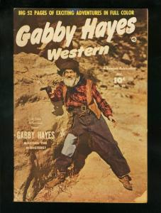 GABBY HAYES #25-1950 JUNE-FAWCETT WESTERN PHOTO COVER-VG minus condition VG-