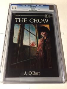 The Crow 4 Cgc 9.2 White Pages Last Issue