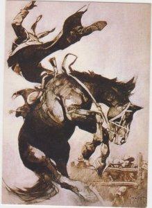 1991 Comic Images Frank Frazetta #52 Bucking Bronco