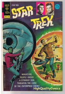 STAR TREK #25, NM-, Dwarf Planet, Kirk, Spock, Gold Key, 1967, more in store