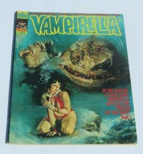 Vampirella #29 FN+ 1973 Horror Magazine Vampire The Undead of the Deep Battle