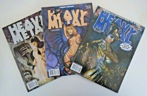 *Heavy Metal 1/01-11/02 w/ Seth Fischer & Bisley (16 books)