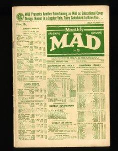 Mad #19 VG 4.0