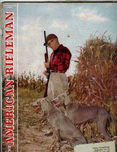 6 Magazines The American Rifleman NRA Publishing 1955 1956 1978 Editions JK36