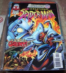SENSATIONAL SPIDER-MAN COMIC # 11 1996  Marvel ben reilly+ CLONE MARYJANE