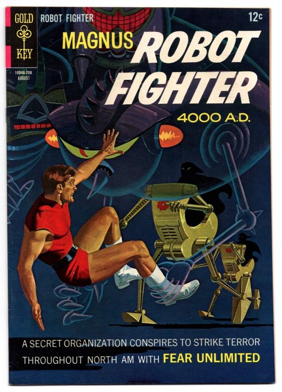Magnus, Robot Fighter #19 (Aug 1967, Western Publishing) - Very Fine-
