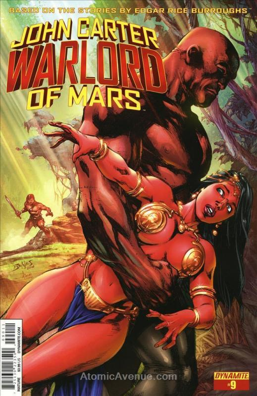 John Carter, Warlord of Mars (2nd Series) #9A VF/NM; Dynamite | save on shipping