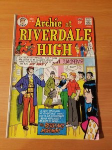 Archie at Riverdale High #12 ~ VERY GOOD VG ~ (1973, Archie Comics)