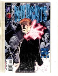 Lot Of 10 Wildcats Wildstorm Comic Books # 19 20 21 22 23 24 25 26 27 28 MF19