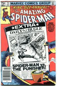 AMAZING SPIDER-MAN ANNUAL #15 1981-MARVEL-fine FN