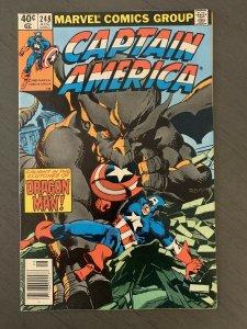 CAPTAIN AMERICA #248 - Byrne Cover & Art - 1980 Marvel Comic VF