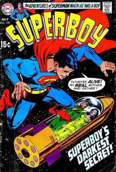 Superboy (1949 series) #158, VG- (Stock photo)