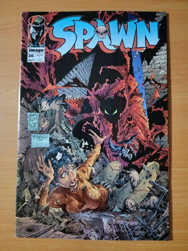 Spawn #36 ~ NEAR MINT NM ~ 1995 Image Comics