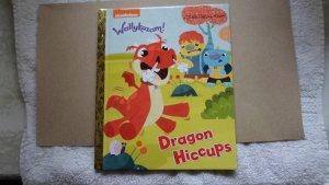 2015 LITTLE GOLDEN BOOKS WALLYKAZAM DRAGON HICCUPS