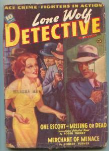 Lone Wolf Detective Pulp April 1941- Merchant of Venice