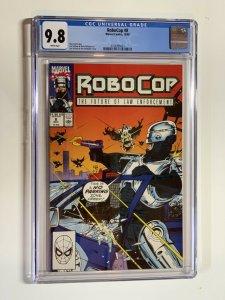 Robocop 8 Cgc 9.8 Wp Marvel