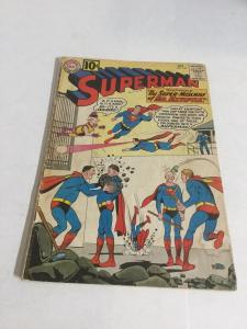 Superman 148 Gd Good 2.0 Water Damage Tape On Spine DC Comics Silver Age