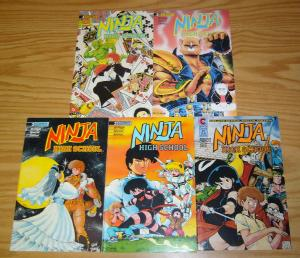 Ninja High School: the Special Edition #1-4 VF/NM complete series + 3.5 ben dunn