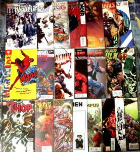 Marvel Comics Set of 22 Rare Variant Covers New Avengers Secret Invasion X-Men