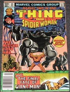 Marvel Two In One #85 -1982