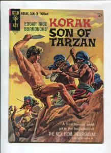 KORAK SON OF TARZAN #9 1965-GOLD KEY-RUSS MANNING-VF