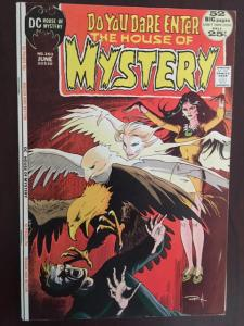 HOUSE OF MYSTERY #203 VF DC BRONZE HORROR GEM! GLOSSY! 52 BIG PAGES!