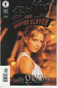Buffy The Vampire Slayer The Origin # 1(DF Gold Foil Photo Variant w/C.O.A.)