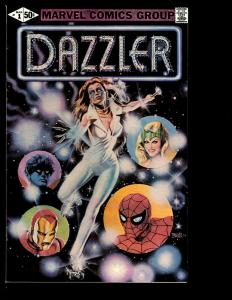 Lot of 11 Dazzler Marvel Comic Books # 1 2 3 4 5 6 7 8 9 10 11 Spider-Man JF10