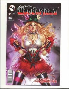 GRIMM FAIRY TALES , WONDERLAND #42 C, VF, Alice, 2015, more GFT in our store