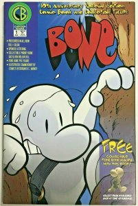 BONE#1 VF/NM 2001 JEFF SMITH 10TH ANNIVERSARY EDITION CARTOON BOOKS