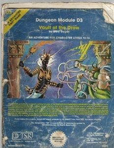 6 D&D Magazines / Maps Module D3 CM4 Final Challenge Dragon 95 Contract 710 SB5