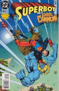 Superboy (1994 series) #16, NM (Stock photo)