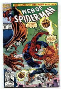 WEB of SPIDER-MAN #86, NM-, DemoGoblin, 1985 1992, more Marvel in store