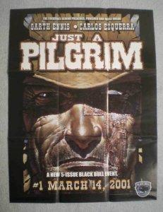 JUST A PILGRIM Promo Poster, Garth Ennis, 19x25, Unused, more Promos in store