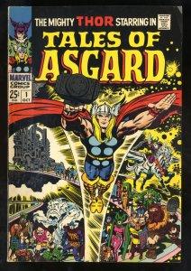 Tales Of Asgard #1 VG+ 4.5 Thor!