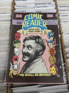 Comic Reader #179 NM Street Enterprises 1980 Stan Lee April Fools Cover