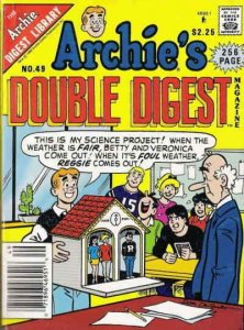 Archie's Double Digest Magazine #49 FN; Archie | save on shipping - details insi
