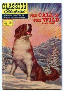 Classics Illustrated 91 (Original) Jan 1952 VG (4.0)