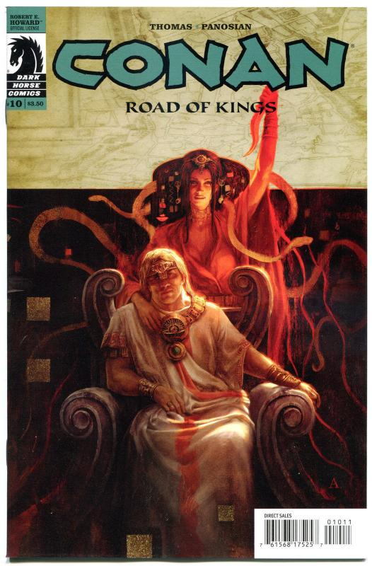 CONAN in ROAD of KINGS #10, NM,  Roy Thomas, 2011, more Conan in store