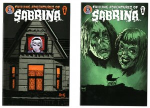 Chilling Adventures of Sabrina #1 & Rosemary's Baby Variant #1