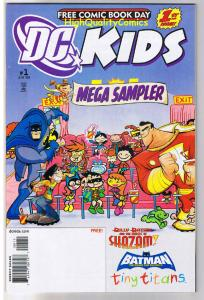 DC KIDS MEGA SAMPLER, FCBD, Promo, Batman, Shazam, 2009, NM