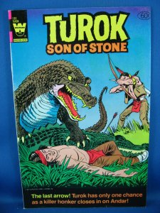 TUROK SON OF STONE 130  VF- Last Issue 1982