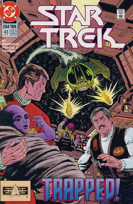 Star Trek (4th Series) #43 VF/NM; DC | save on shipping - details inside
