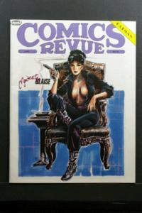 Comics Revue #44 1990 Modesty Blaise Cover