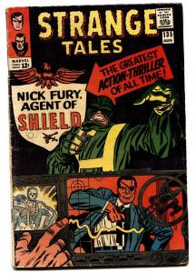 STRANGE TALES #135 comic book-FIRST NICK FURY-KEY-SILVER AGE-MARVEL