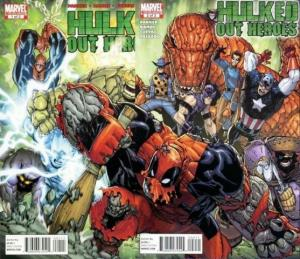 HULKED OUT HEROES (2010) 1-2  complete!