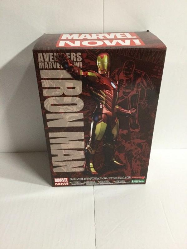 Iron Man Marvel Now Artfx+ Statue 1/10 Scale Pre-Painted Model Kit