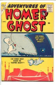 ADVENTURES OF HOMER GHOST  #1-1957-DAN DE CARLO-SOUTHERN STATES-vf minus