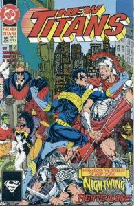 New Titans #95, NM (Stock photo)