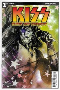 Kiss Blood And Stardust #1 Cvr B (Dynamite, 2018) NM